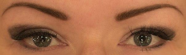 Перманентный макияж глаз с эффектом теней